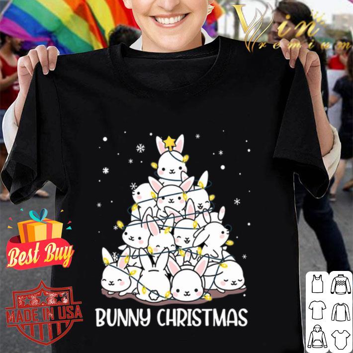 Bunny Rabbit Christmas tree shirt