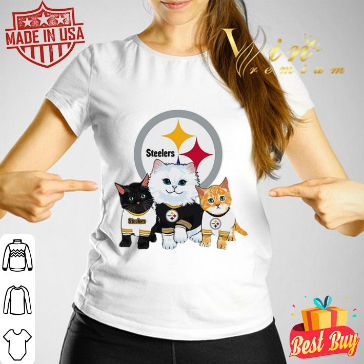 Cats Pittsburgh Steelers shirt