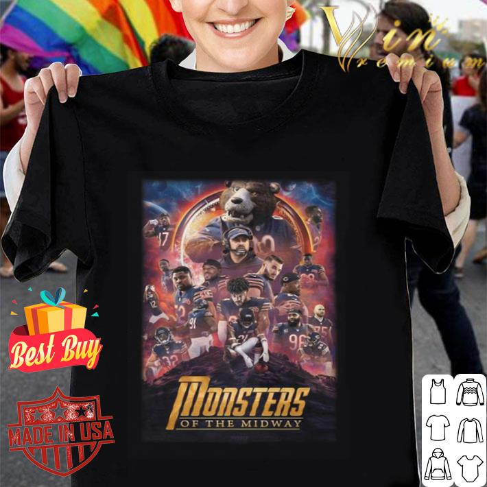Chicago Bears Monsters Of The Midway Avengers Infinity War shirt