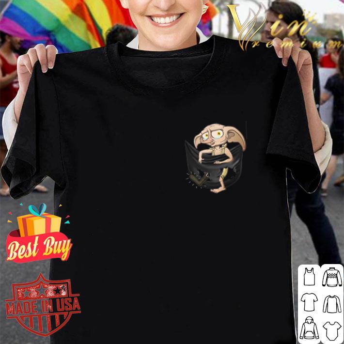 Dobby Harry Potter in pocket shirt