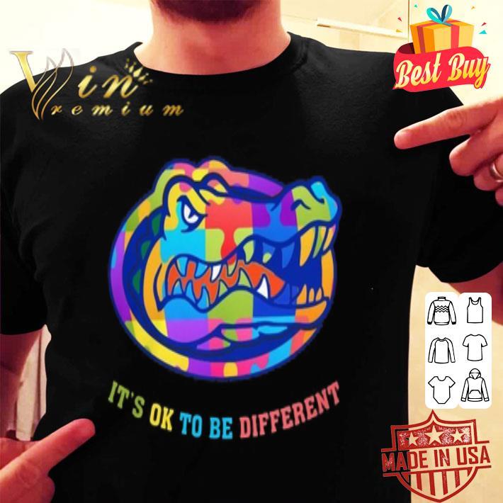 Florida Gators Autism It's OK To Be Different shirt