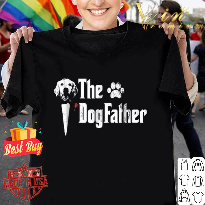 Golden Retriever The Dogfather The Godfather shirt