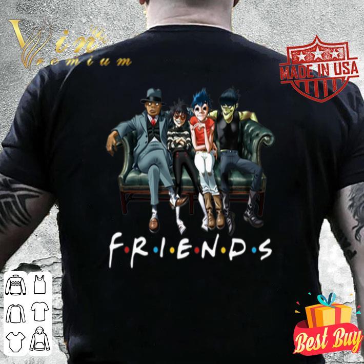 Gorillaz Friends shirt