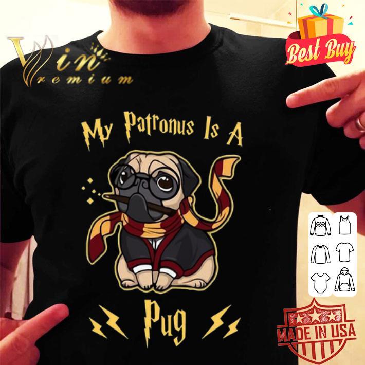 Harry Potter My Patronus is a Pug shirt