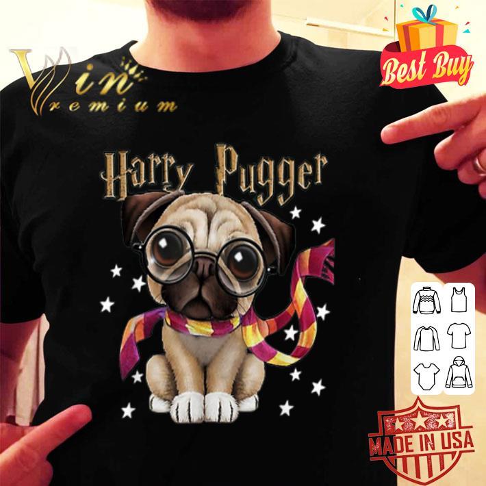 Harry Pugger Pug dog Mashup Harry Potter shirt