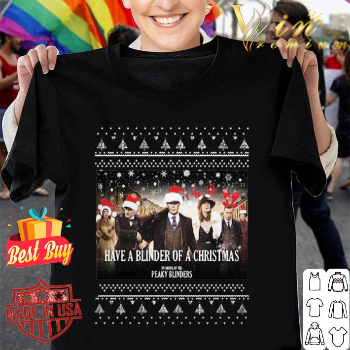Have A Blinder Of A Christmas Peaky Blinders Ugly Christmas sweater