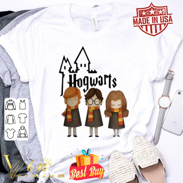 Hogwarts Harry Potter Hermione Granger And Ron Weasley shirt