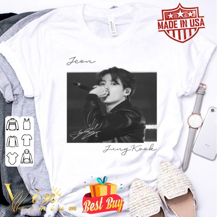 Jeon Jung Kook signature shirt