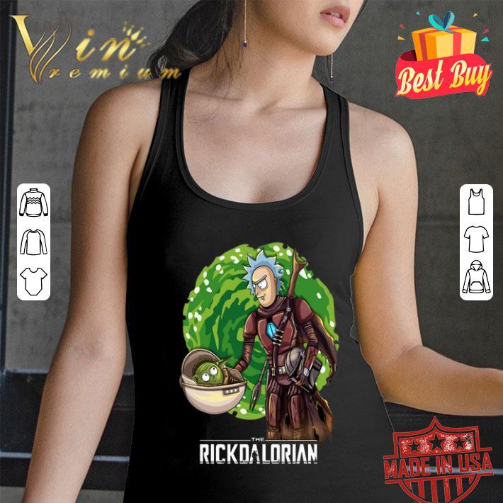 Mandalorian The Rickdalorian Rick and Morty Crossover shirt
