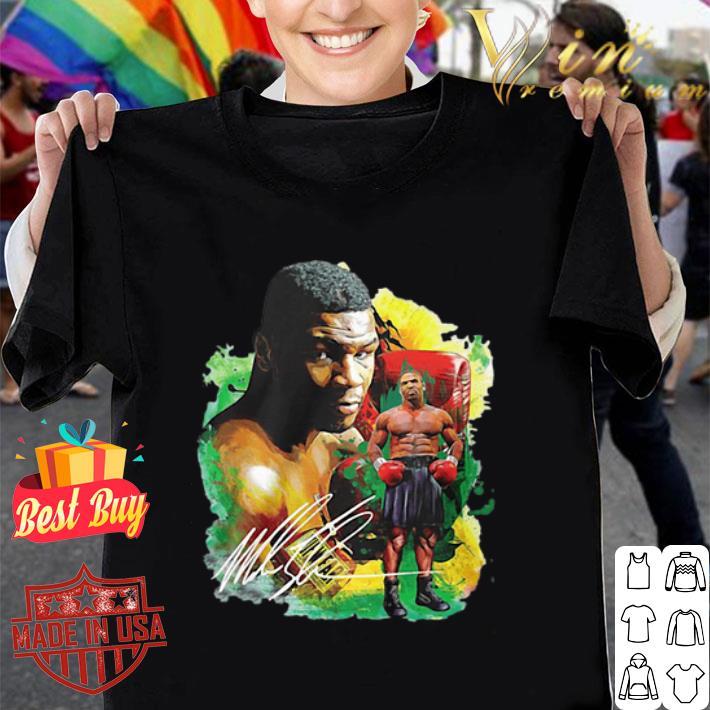 Mike Tyson Boxing signature shirt