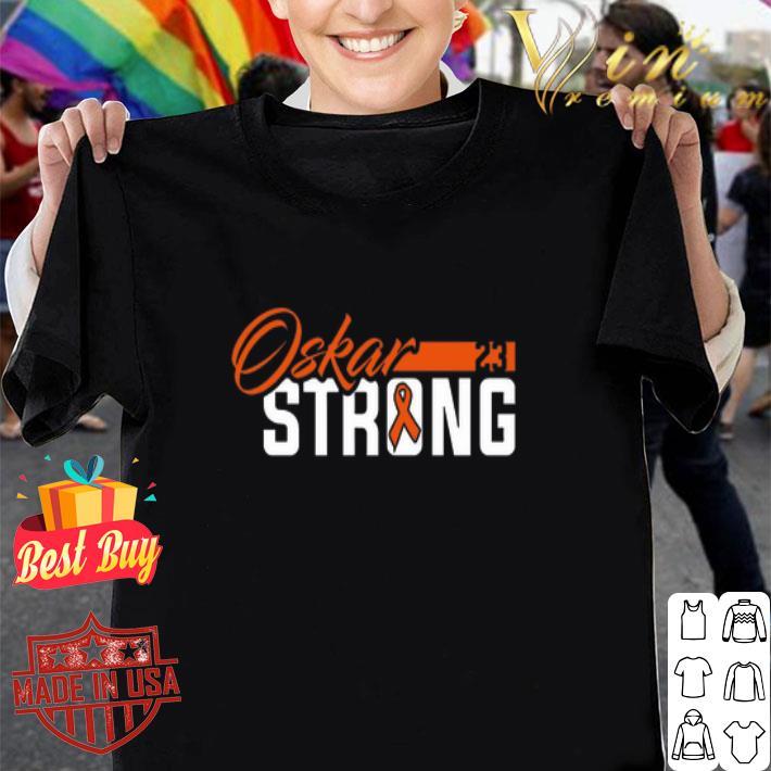 Philadelphia Flyers Oskar Strong Cancer shirt