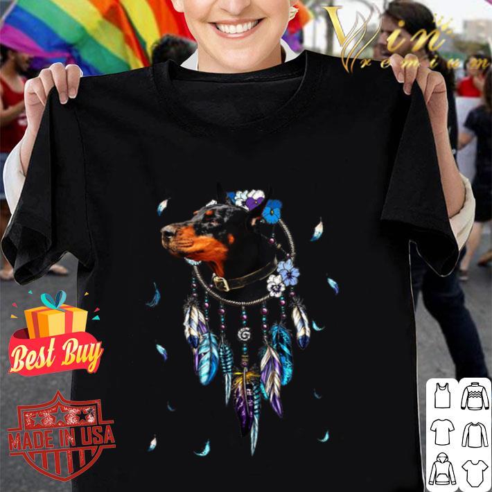 Rottweiler Dreamcatchers Rings Native American shirt