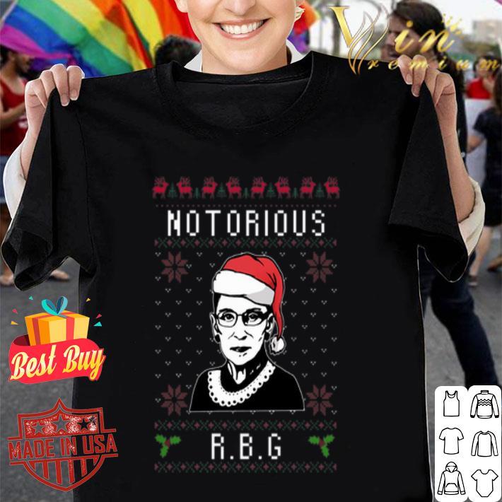 Ruth Bader Ginsburg Notorious RBG Ugly Christmas sweater