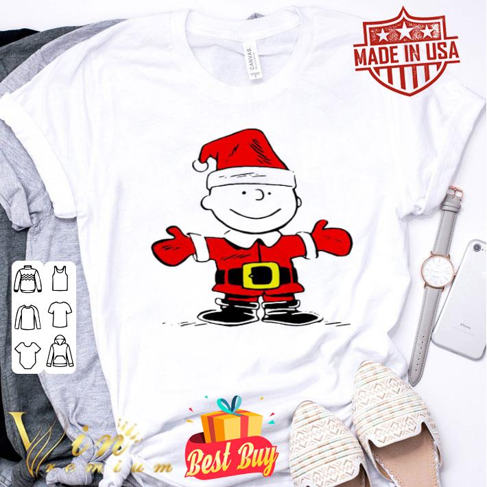 Santa Charlie Brown Merry Christmas shirt
