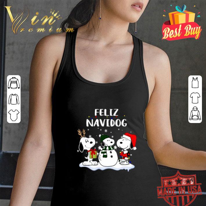Snoopy Feliz Navidog Christmas shirt