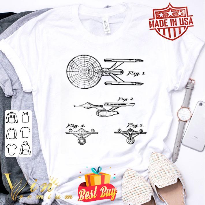 Star Trek Spaceships Starship shirt