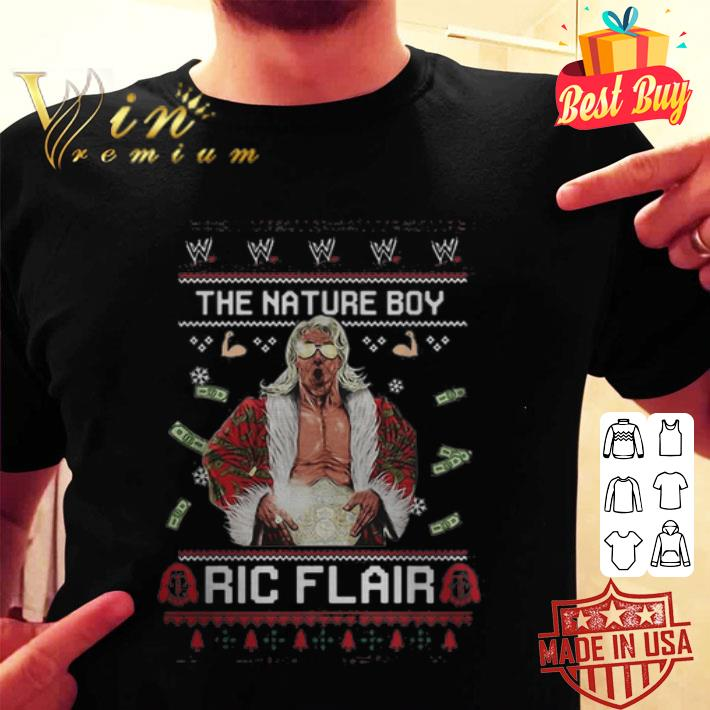 The Nature Boy Ric Flair ugly Christmas sweater
