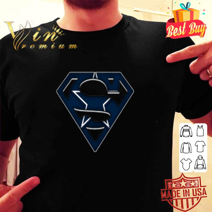 We Are Undefeatable The Dallas Cowboys Superman Logo shirt