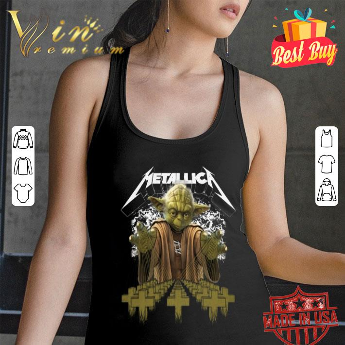 Yoda Star Wars Metallica shirt