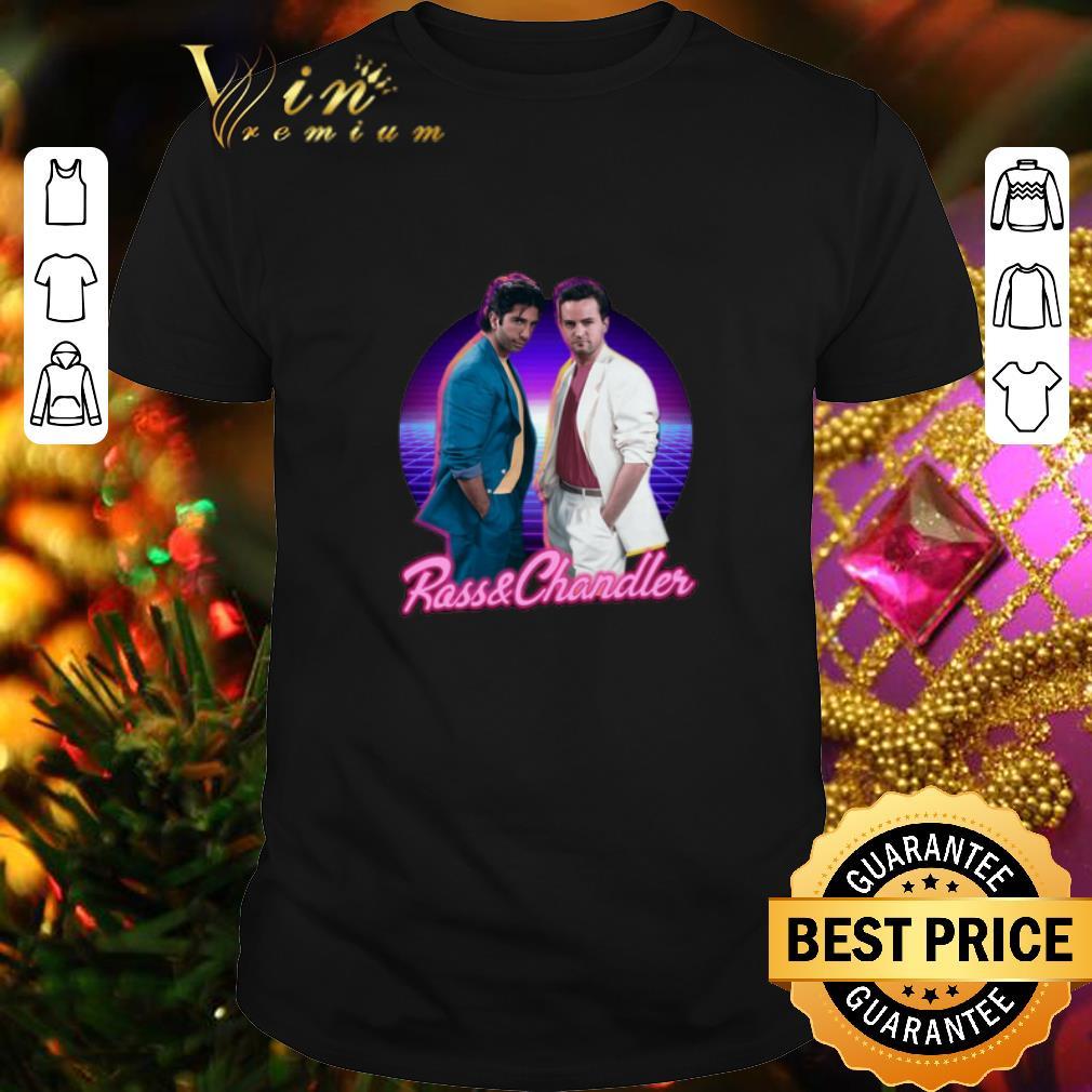 Friends Ross & Chandler Ross Geller And Chandler Bing shirt