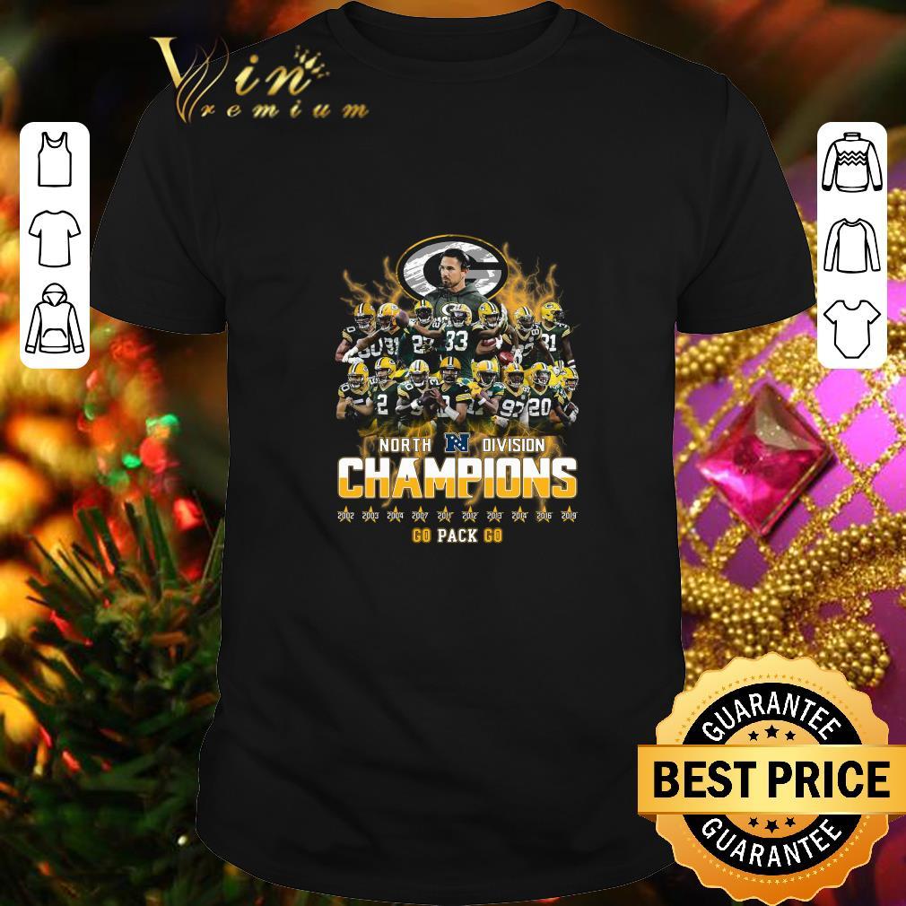 Green Bay Packers North Division Champions 2019 shirt