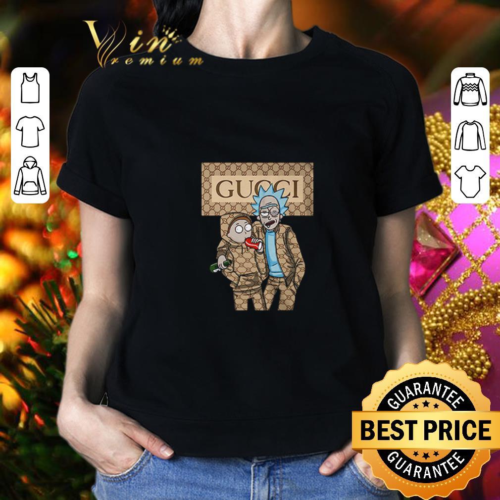 Rick and Morty Gucci Logo shirt