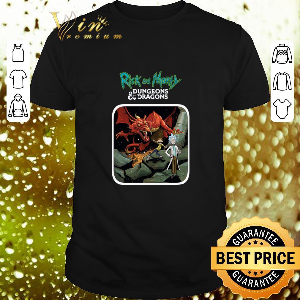 Rick and Morty Mashup Dungeons And Dragons shirt