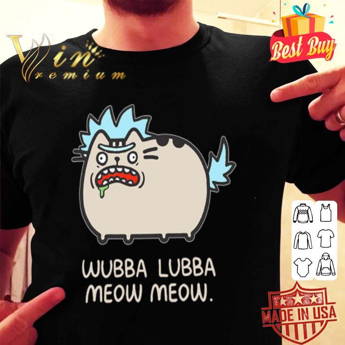 Rick and Morty Wubba Lubba Meow Meow shirt