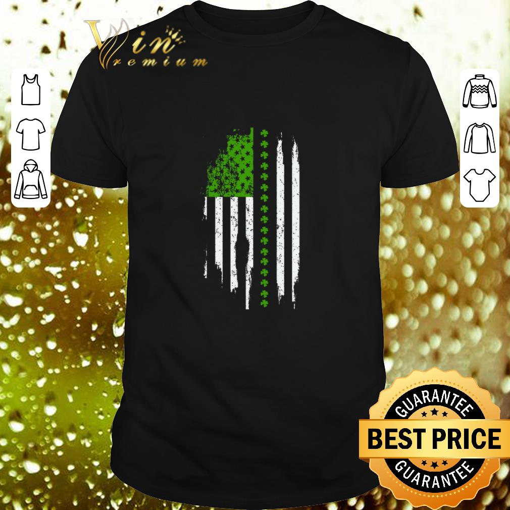 Saint Patrick's Day American Flag shirt