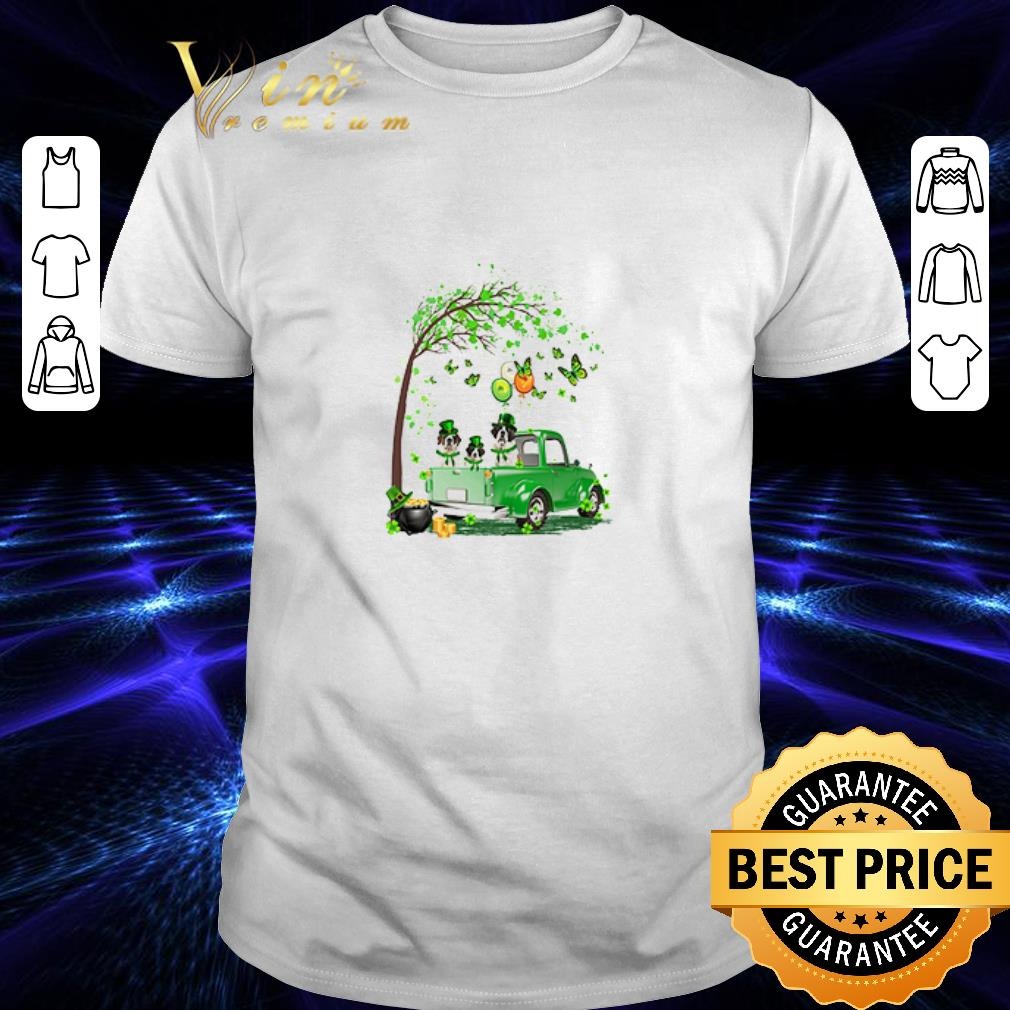 St Bernard dog Truck St Patrick's Day shirt