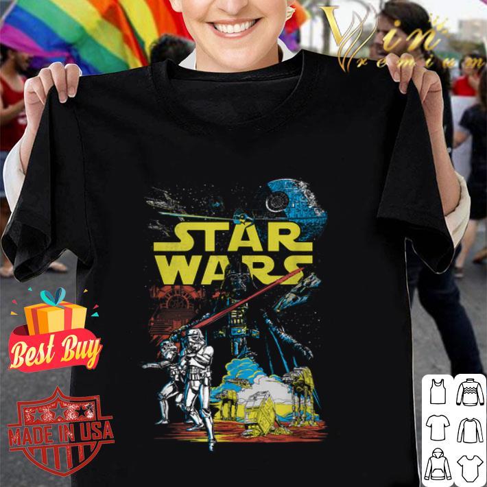 Star Wars comic characters shirt