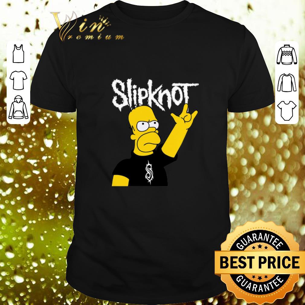 The Simpsons Mashup Slipknot Homer Simpson shirt