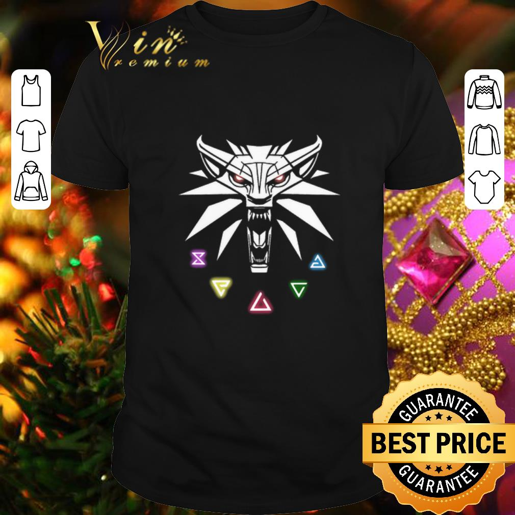 The Witcher Wild Hunt Enamel Pin shirt