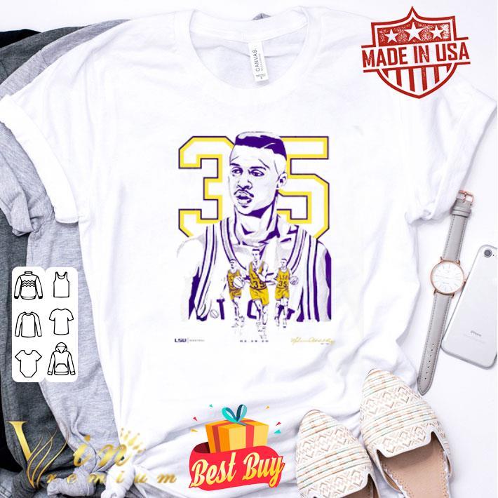 35 Mahmoud Abdul-Rauf LSU Tigers shirt