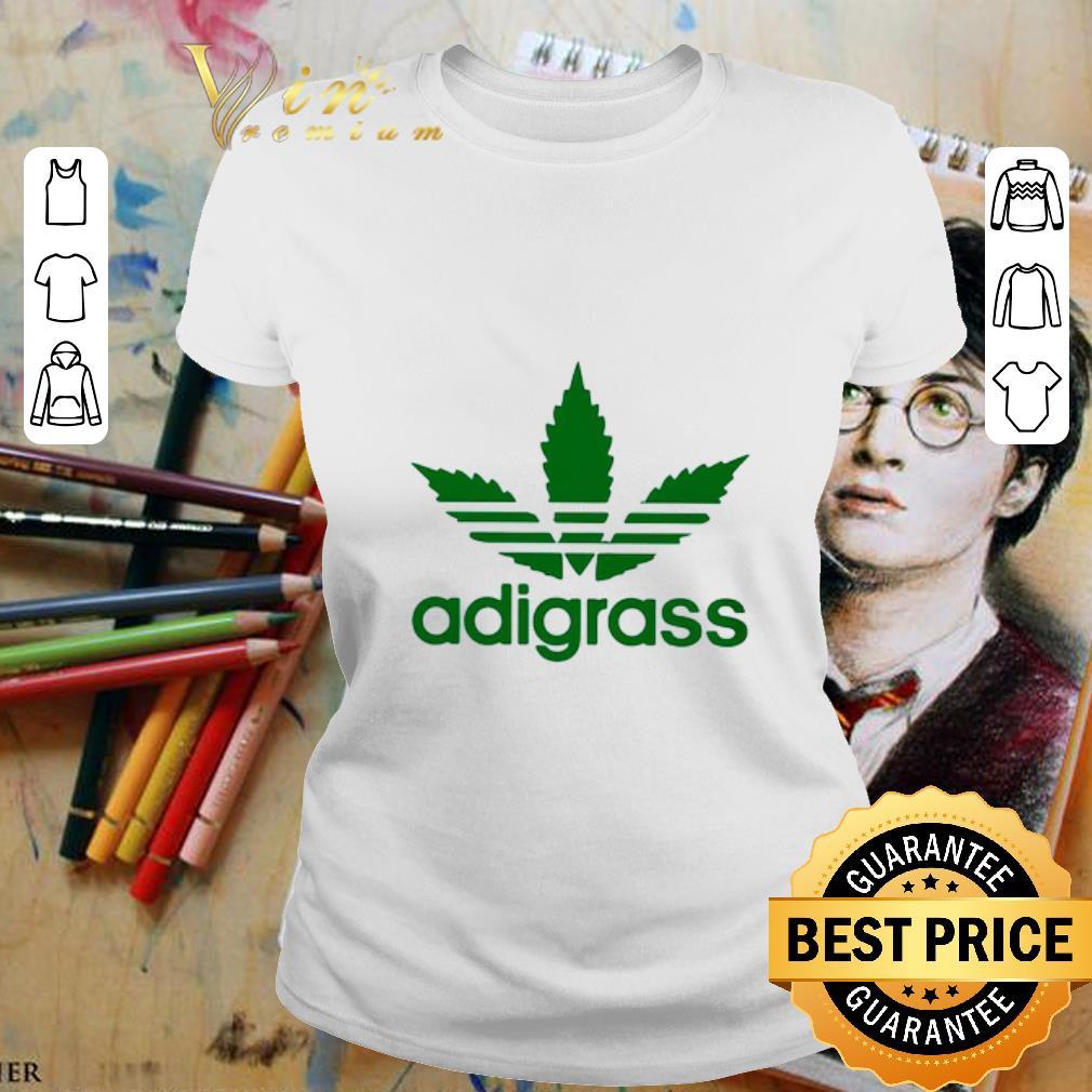 Adidas Adigrass Weed Cannabis shirt