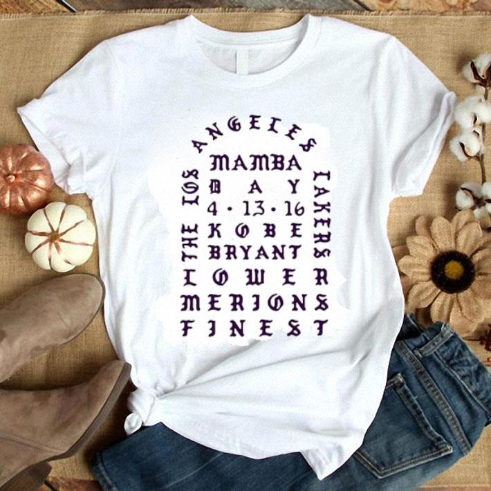 Clickbuypro Unisex Tshirt Angeles Mamba Day 4 13 16 Kobe Bryant Shirt Hoodie Navy 3xl