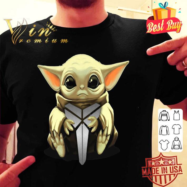 Baby Yoda Hug Black Mamba Kobe Bryant Logo Star Wars shirt