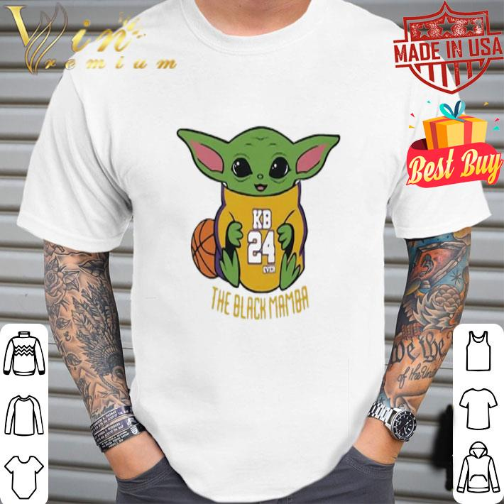 Baby Yoda Kobe Bryant The Black Mamba shirt