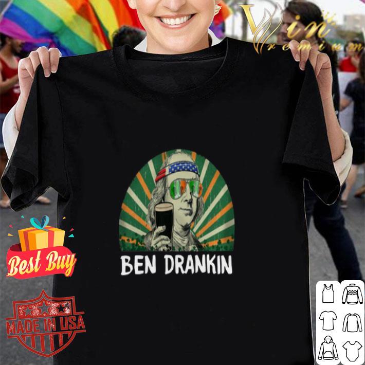 Clickbuypro Unisex Tshirt Ben Drankin Happy St Patricks Day Shirt Hoodie Navy 3xl