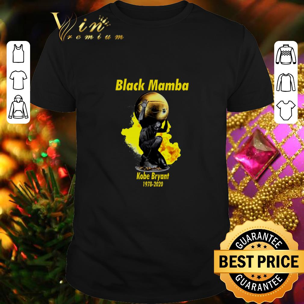 Clickbuypro Unisex T-shirt Black Mamba Kobe Bryant 1978-2020 Shirt Hoodie White S