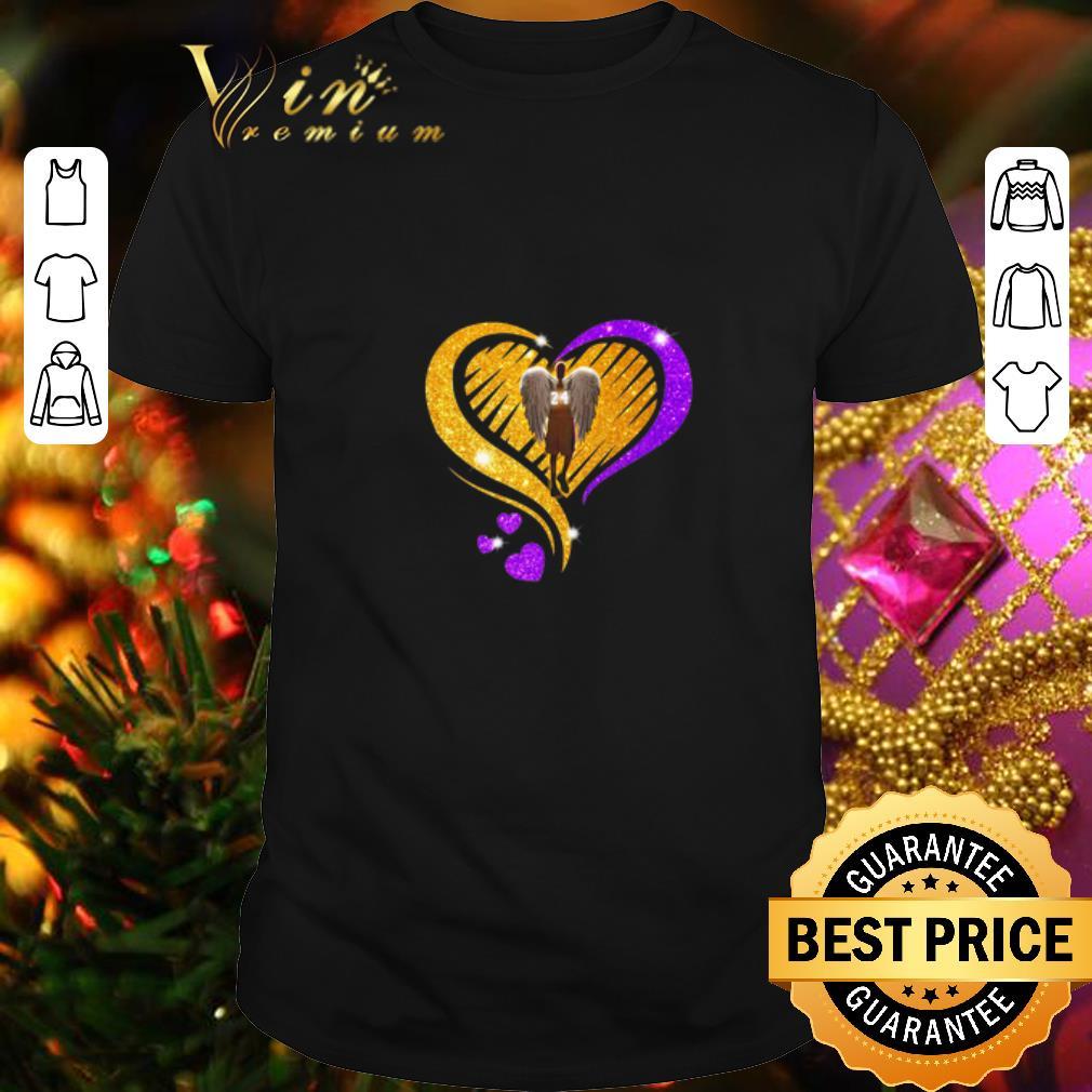 Diamond Heart Kobe Bryant 24 Angel Love shirt