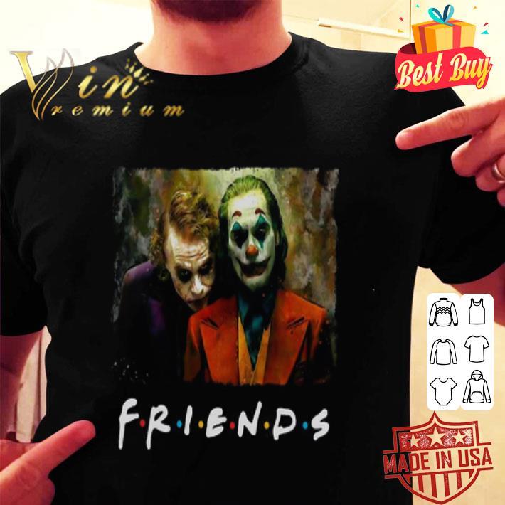 Friends Joker Heath Ledger and Joaquin Phoenix shirt