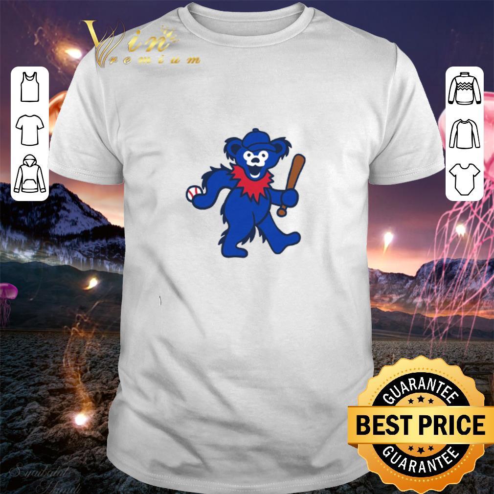 Grateful Dead Dancing Bear Baseball shirt 1