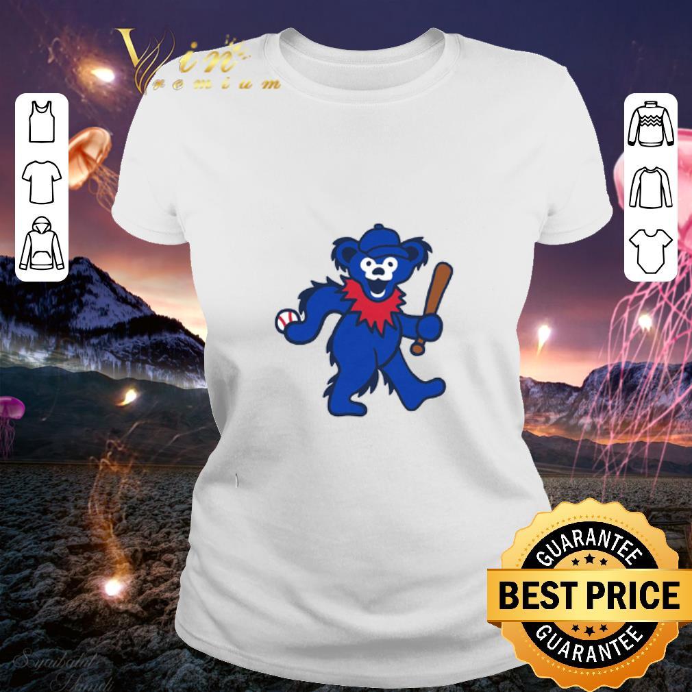 Grateful Dead Dancing Bear Baseball shirt 2