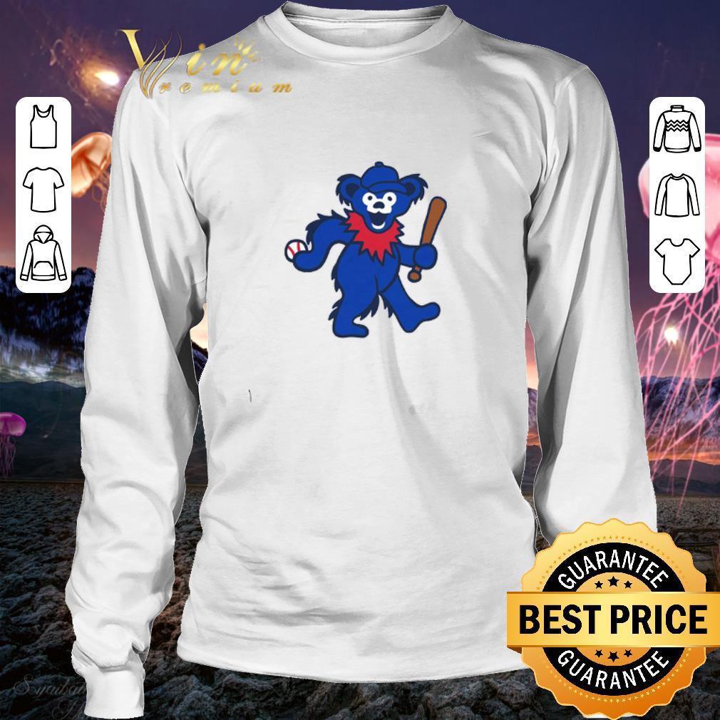 Grateful Dead Dancing Bear Baseball shirt 3