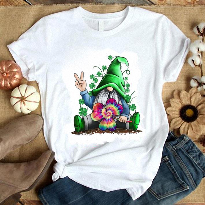 Clickbuypro Unisex T-shirt Hippie Gnome St Patricks Day Shirt T-shirt Red Xl