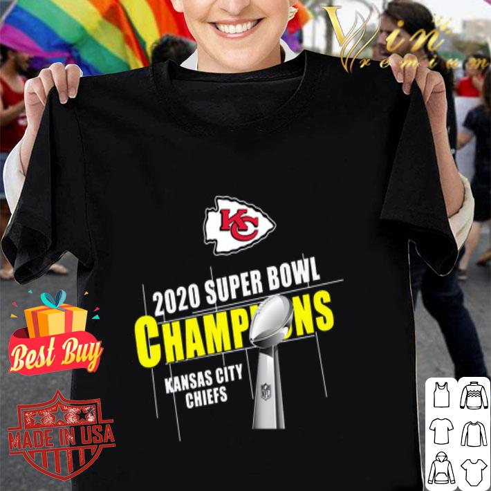 Kansas City Chiefs 2020 Super Bowl Champions Cup shirt