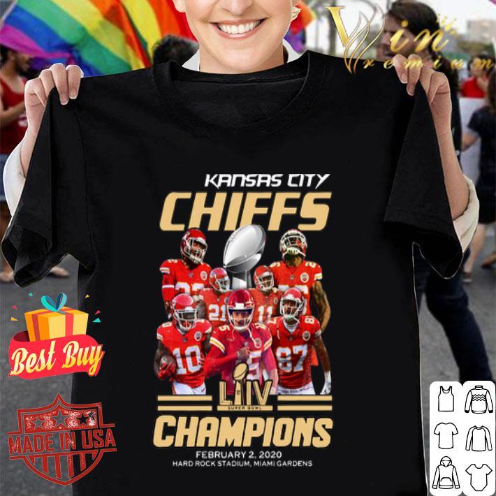 Patrick Star Mahomes Kansas City Chiefs Super Bowl Champions shirt