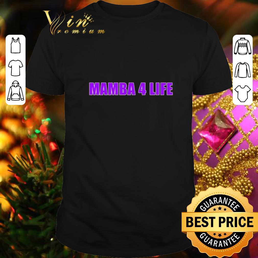Clickbuypro Unisex T-shirt Mamba 4 Life Kobe Bryant Shirt Hoodie Navy 2xl