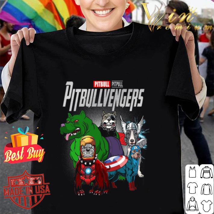 Marvel Pitbull Pitbullvengers Avengers Endgame shirt